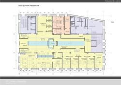 План первого этажа банка