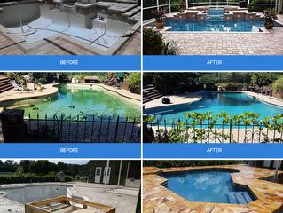 Pool Resurfacing - Sarasota, Florida