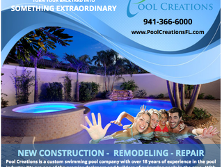 New Pool Construction - Sarasota, Florida