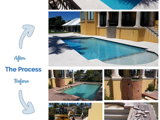 Pool Remodeling Process - Sarasota, Florida
