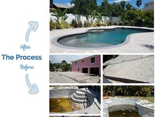 New Pool Construction Process - Sarasota, Florida