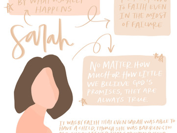 Faith like Sarah