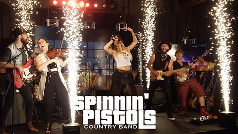 Spinnin' Pistols Country band