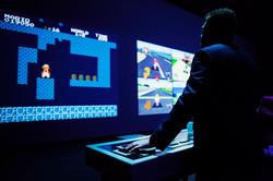 Jeux vidéo géant