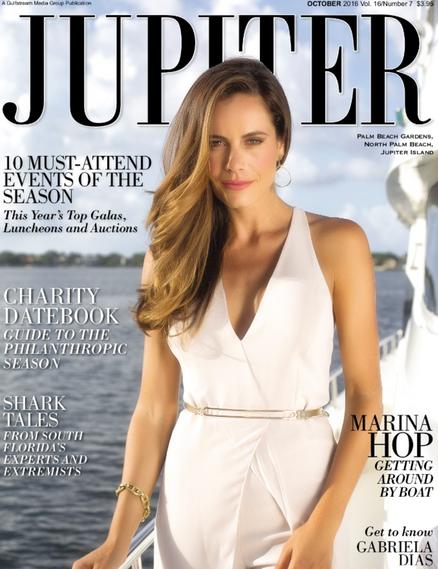 Gabriela Dias cover of Jupiter Magazine.