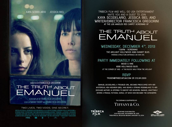 Official movie poster for The Truth about Emanual.