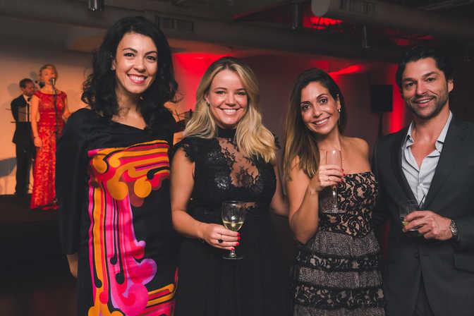 "Debora Dias, Juliana Con, Sarah Bamford and Paulo Lanfredi at The Gabriela Dias Foundation "" Hope for Change"" Poker Tournament 2018."