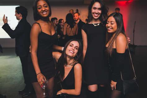 """Celeste Burnett, Paula Bolzan, Gabriela Dias and Guadalupe Lazcano at Gabriela Dias at The Gabriela Dias Foundation """" Hope for Change"""" Poker Tournament 2018."""