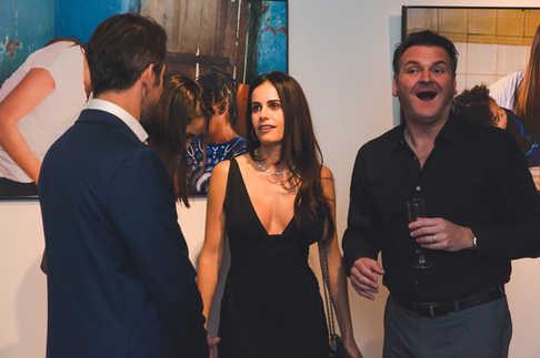 """Gabriela Dias and Todd Trimmer at The Gabriela Dias Foundation """" Hope for Change"""" Poker Tournament 2018."""
