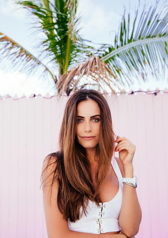 Gabriela Dias in Turks and Caicos!