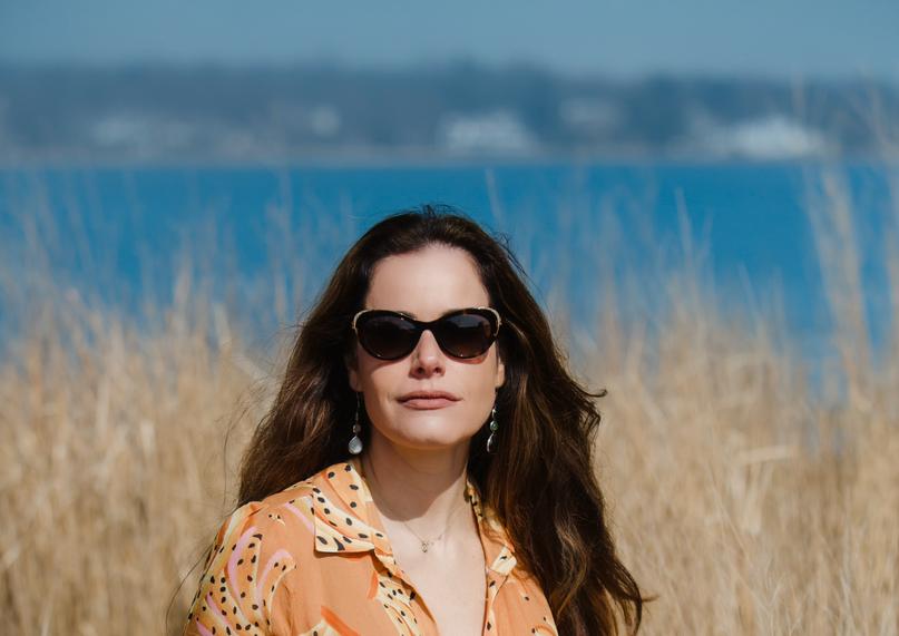 Gabriela Dias at Tod's Point, Greenwich, Connecticut!