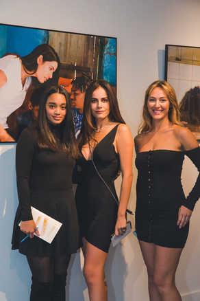 "Kris Jacob, Gabriela Dias and Moira Tumas at The Gabriela Dias Foundation "" Hope for Change"" Poker Tournament 2018."