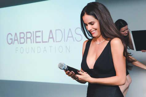 """Gabriela Dias at The Gabriela Dias Foundation """" Hope for Change"""" Poker Tournament 2018."""