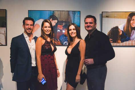 """Sam Guilhem, Carla Guilhem, The Gabriela Dias Foundation """" Hope for Change"""" Poker Tournament 2018."""