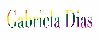 Gabriela Dias logo for Pride month