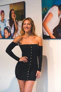 "Model at The Gabriela Dias Foundation "" Hope for Change"" Poker Tournament 2018."