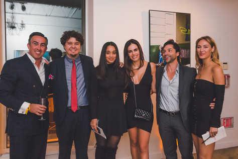 "Christian Perry, Paulo Milan, models, Gabriela Dias and Paulo Lanfredi at The Gabriela Dias Foundation "" Hope for Change"" Poker Tournament 2018."