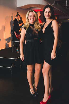 """Debora Dias and Gabriela Dias at The Gabriela Dias Foundation """" Hope for Change"""" Poker Tournament 2018."""