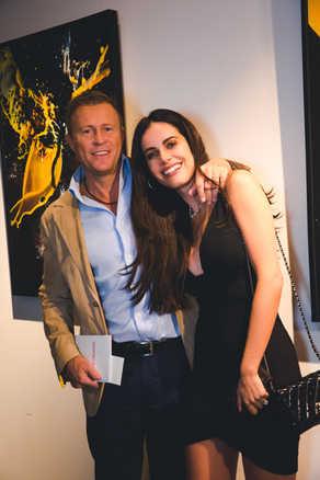 """Gary Cunningham and Gabriela Dias The Gabriela Dias Foundation """" Hope for Change"""" Poker Tournament 2018."""