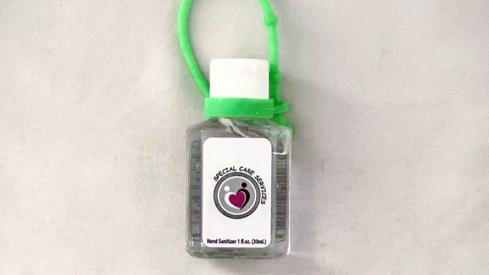 Hand Sanitizer With Strap