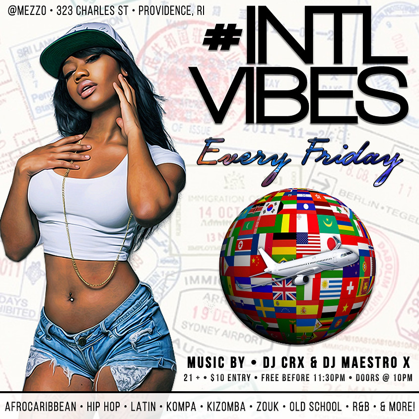 PVD VIP: #INTLVIBES