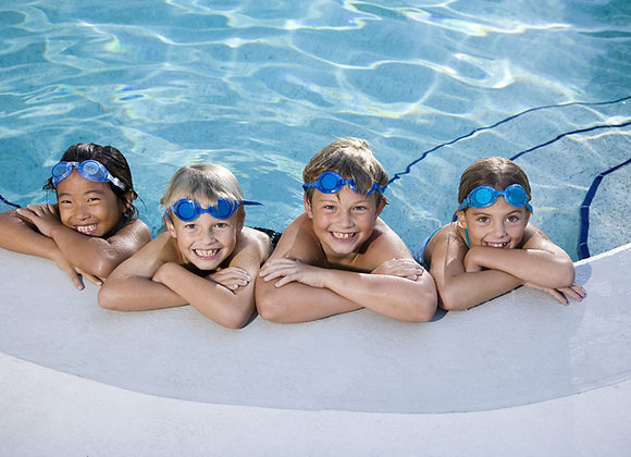Beginner Swimming Lessons June 21st -25th PM