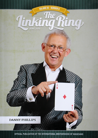 "Huge honour for NZ magician to be on the front cover of USA's ""The Linking Ring"""