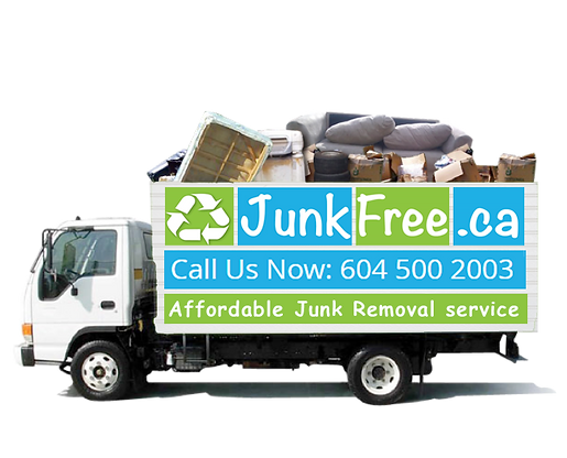 junk removal company truck for rubbish removal and fernichair removal We remove house hold junk and cunstruction junk