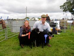 1st & 2nd homebred tup lambs (BUAS)