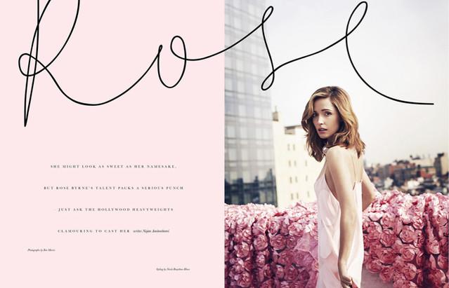 Rose Byrne / Elle Australia