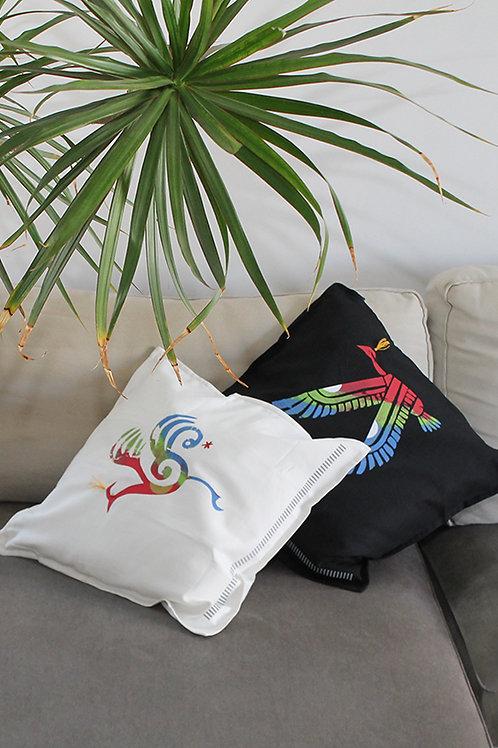 Wild bird printed  Cushion cover