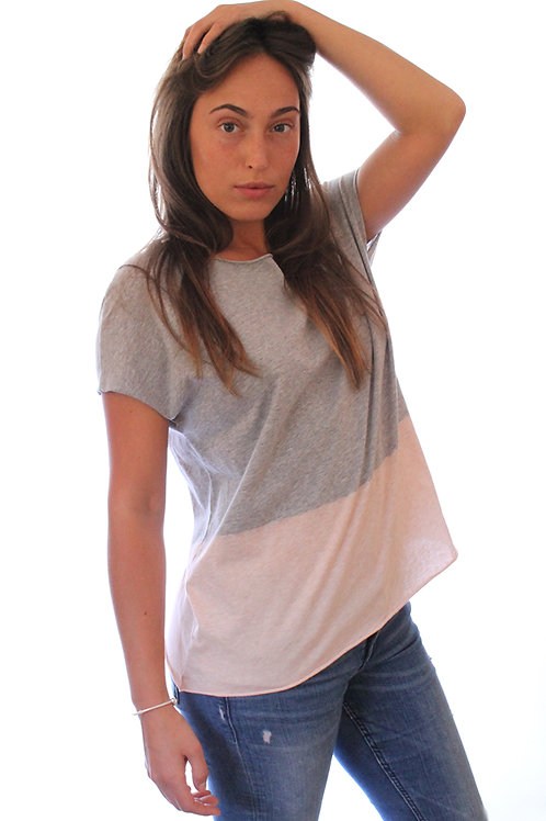 Hand-dyed heather Grey shirt