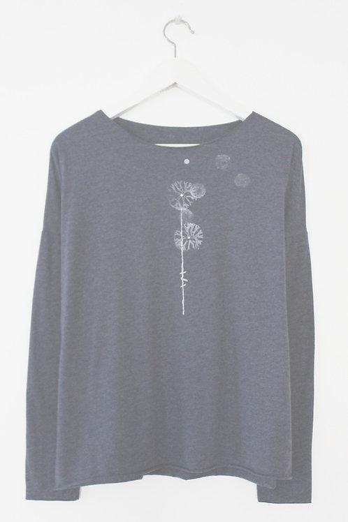 Dandelion printed Blue shirt