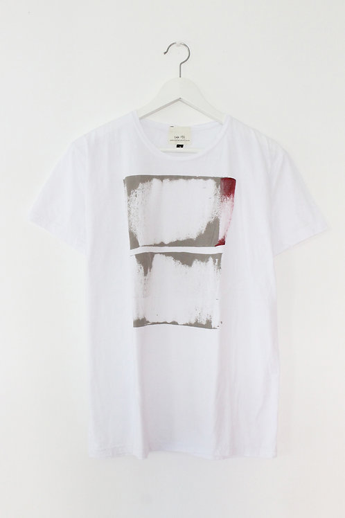 Abstract printed White T-shirt