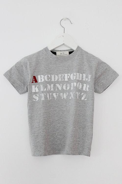 Kids Personalized ABC shirt