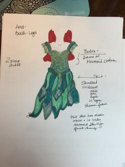 Ariel - Land Dress