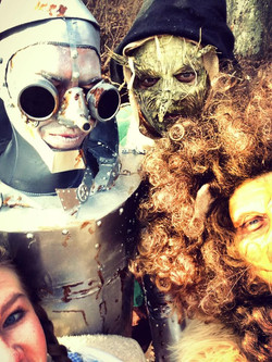 Lion, Scarecrow and Tinman