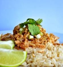 Thai Coconut Peanut Chicken