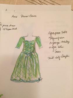 Ariel Ballroom Sketch