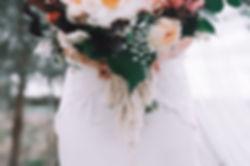 Bespoke bridal bouquet wrap