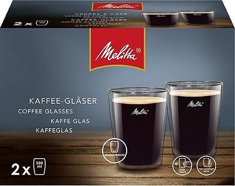 Melitta Dubbelwandig Koffieglas