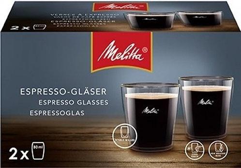 Melitta Dubbelwandig Espressoglas