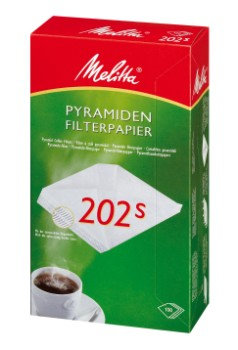 Melitta Pyramiden filterpapier 202s