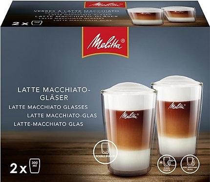 Melitta Dubbelwandig Latte Macchiato glas