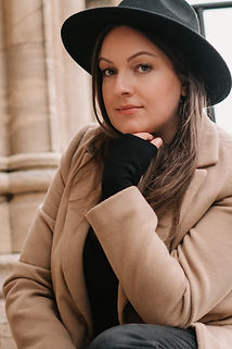 Rebecca Kerr Photography sitting on steps at York Minster
