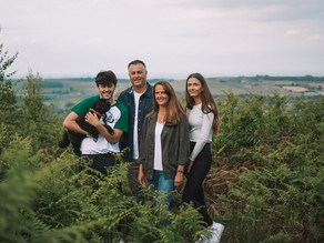 Swift Family at the Trig Point