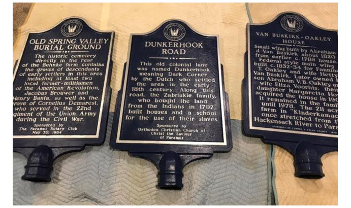 Markers restored by scouts