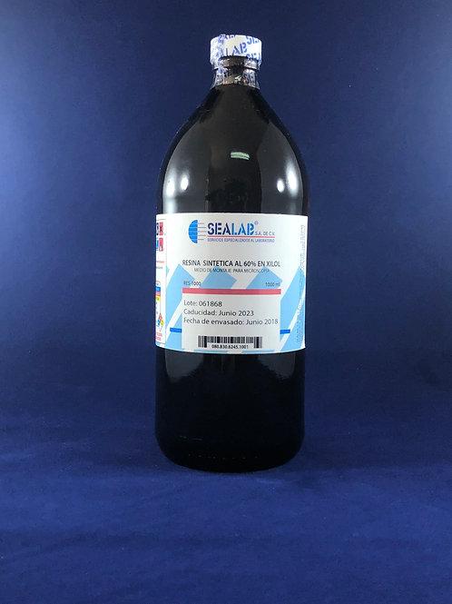 Resina Sintetica al 60% en Xilol 1L