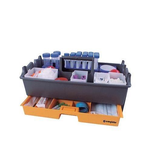 Caja transportadora de muestras clínicas