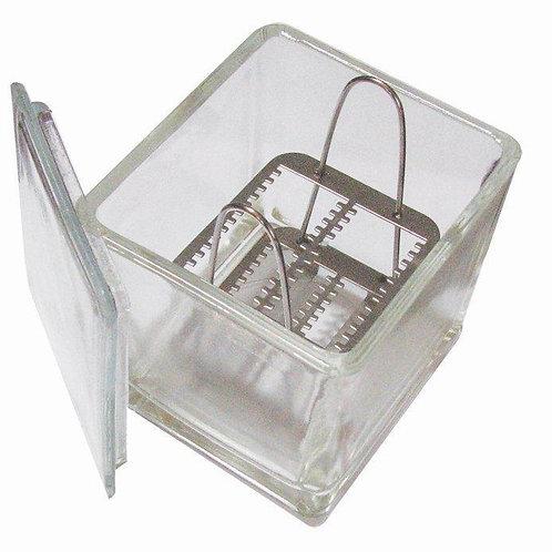 Caja Coplin de Vidrio